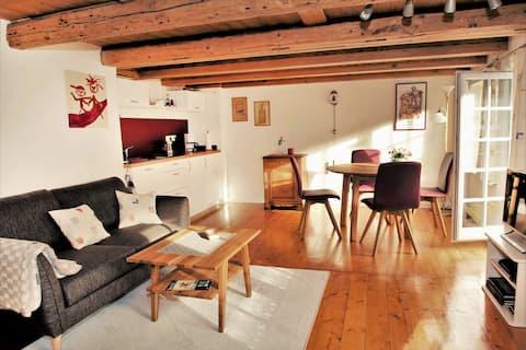 Fin lägenhet i Goslarer halvvirkeshus