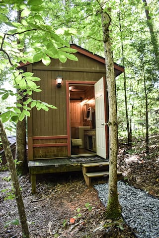 Welcome to the Cozy Cub tiny house