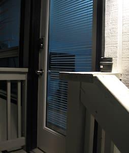 """Standard 36"""" exterior entry door."""