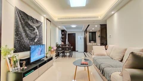 上海大学旁到徐家汇静安寺愚园路武康路安福路30分钟舒适精装公寓独立空间