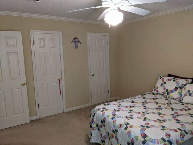 Bedroom #1 with full size bed