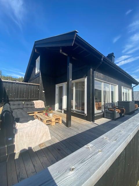 Hyggelig hytte på Hemsedal golf alpin/Gratis golf