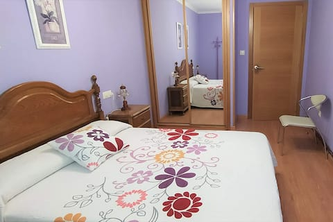 Confortable apartamento, playa a 3 min., WiFi