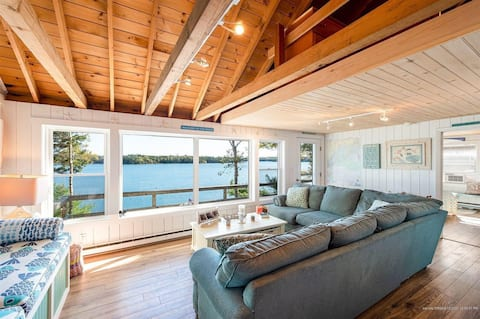 Amazing Oceanfront Private Cottage Deep Water Dock