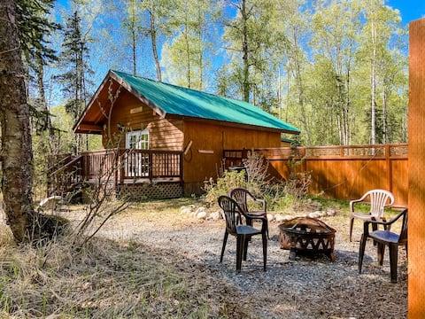 Talkeetna Wolf Den Cabin - Cozy cabin living!