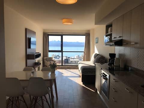Loft con increíble vista, balcon y cochera