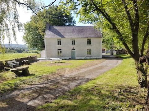 Ballyroughan farmhouse an idyllic country retreat.
