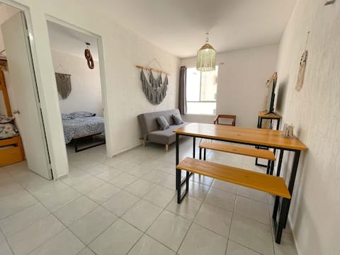 Beautifully Comfortable 2BR Tulum Apartment w/WiFi