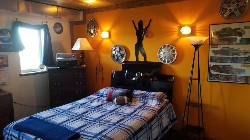 "The ""Garage"" Room"