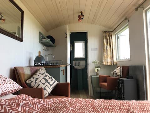 Shepherds Huts With Incredible Sea Views