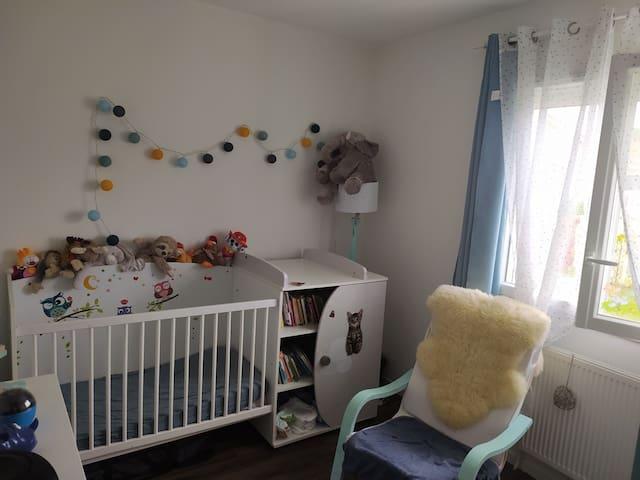 Chambre 2 lit enfant