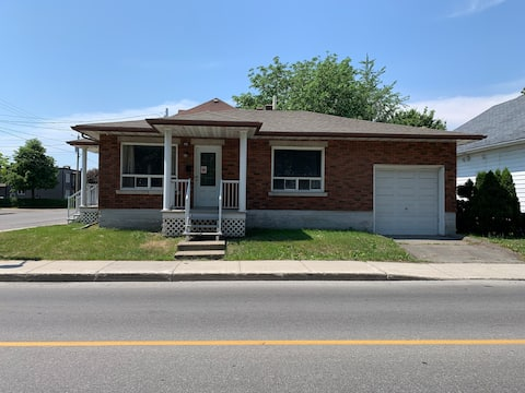 3-bedroom house in downtown Valleyfield
