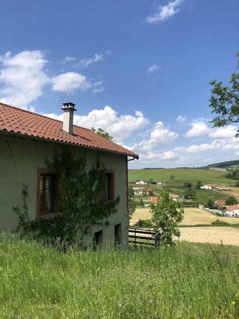 Maison au calme en pleine campagne