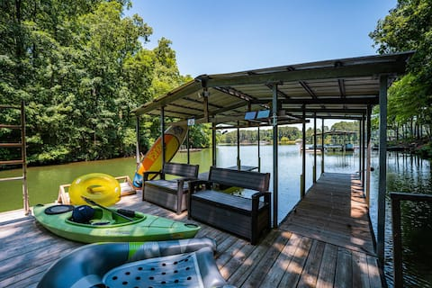 Modern Lake Cottage w/ Dock + in Prime Location