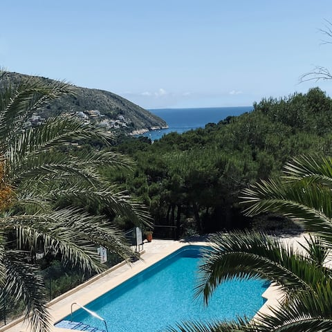 Luxury house with sea view in El Portet Moraira