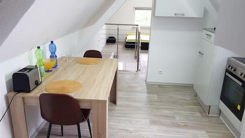 Schöne voll ausgestattete Wohnung in top Lage