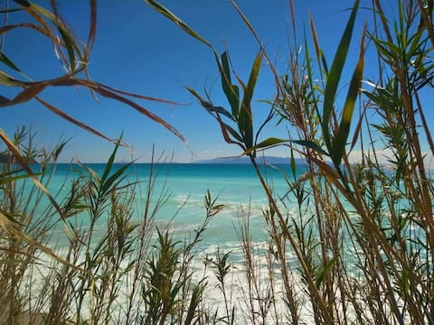 Kefalonia, Lourdasin ranta: Vesi-sivustudiot, uima-allas