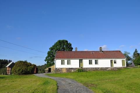 1800 'lerden kalma rahat, geleneksel bir Norveç evi