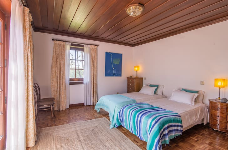 downstairs double bed room facing the gardens