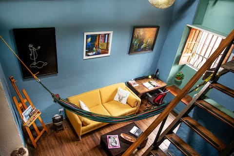 New/Lovely and bohemian apartment in La Candelaria