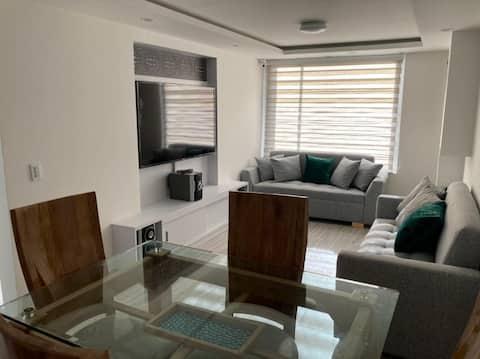 Casa en Paipa agradable, confortable y moderna.