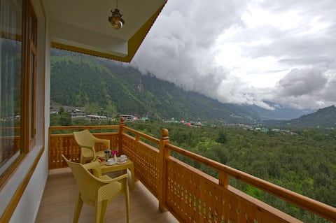 Mountain view Room with private balcony