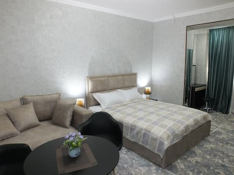 New comfortable apartment in the city center .
