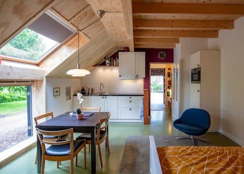 Appartement Ommeland bij Zuidwolde/Groningen