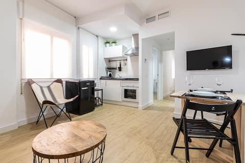 Apartamento casco histórico WIFI Francos 49D