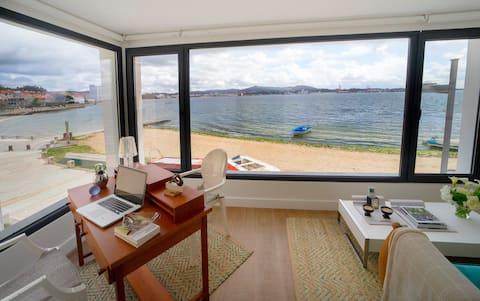 Moderna y Lujosa Casa a pie de playa en Carril