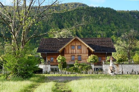Lesi apartment-wood and art in the midst of nature