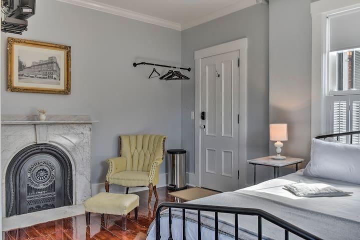 Burrell House Marble room