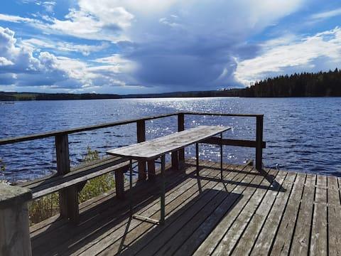Rämsbyns Fritidsby, idyll i Dalarna ved søen Rämen
