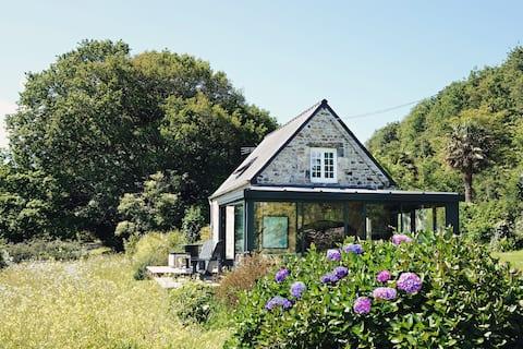 La Pause - Maison en pierre cosy au calme - GR34