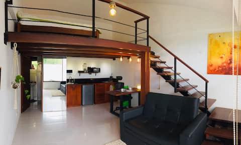 Hermoso loft totalmente independiente