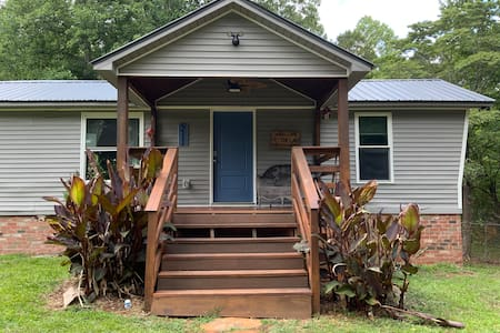 """The front door is 36"""" wide, but it has a set of steps, same goes from back door."""