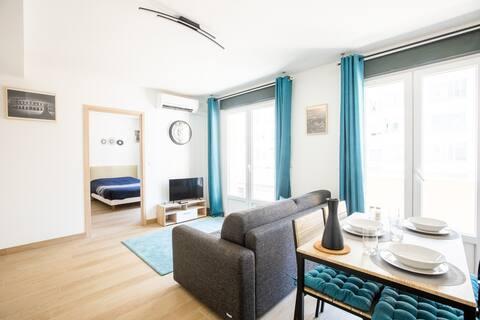 💙🐊💙 Centro totalmente equipado apartamento de 2 habitaciones