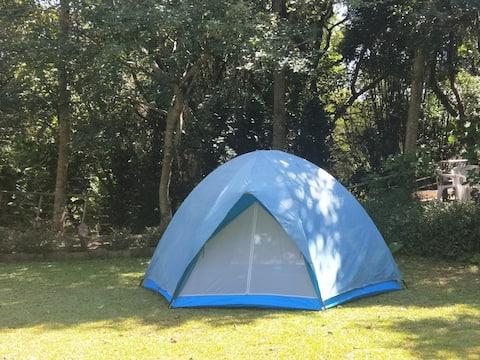 龍潭花園露營住宿, 享受自然恬靜的鄉村生活