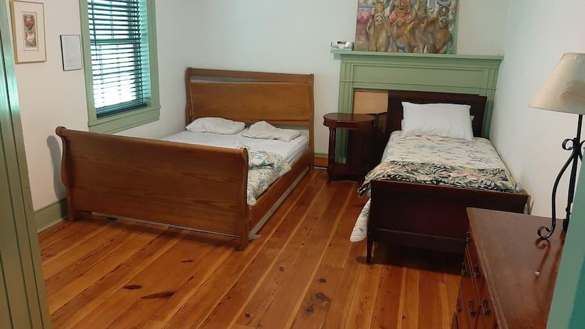 Bedroom five, first floor