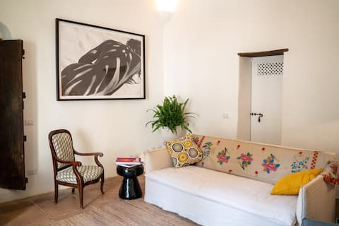 Luxury one room (DB) apartment with large terrace.
