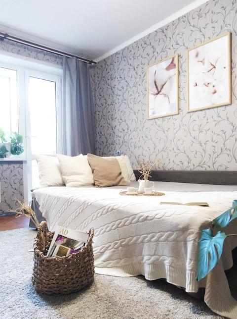 Уютная квартира у Капитала