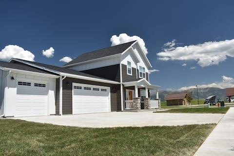 Bridger View Retreat new custom home