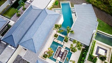 ¡Promoción! Villa moderna de 4 dormitorios con piscina