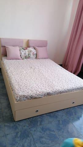 super cozy  double bed