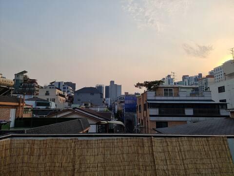 ★City-View Terrace★테라스가 있는 강남 더블역세권 테라스하우스입니다 :)