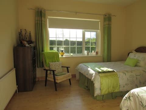 Twin Room close to Hill of Tara and Tayto Park