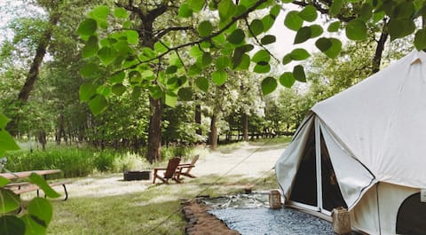 The Grove Glamping, Spruce Tent, MN