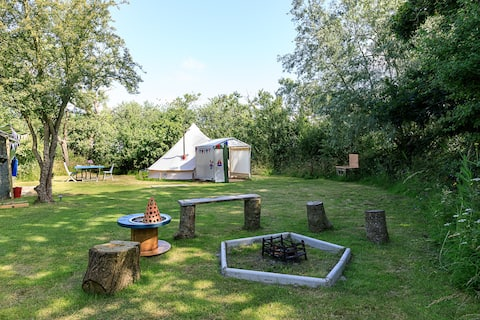 Secluded Back To Nature Eco Bell Tent Experience