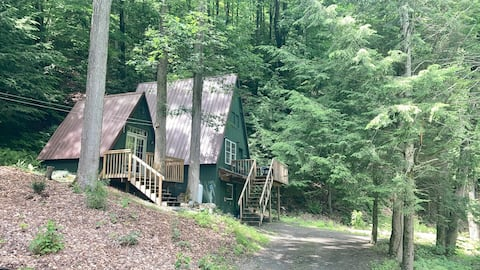Winsome A-Frame on Broad Brook