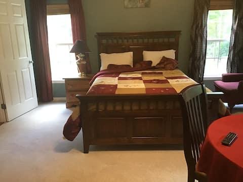 la habitación más adorable, tranquila y privada de la zona
